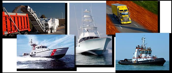 Aetna Engineering | Digital tachometers used on boats, ships